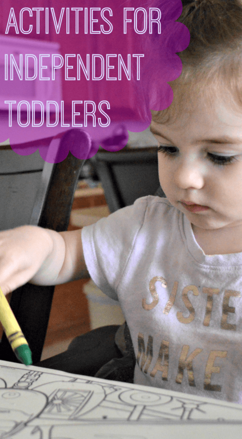 activities for independent toddlers