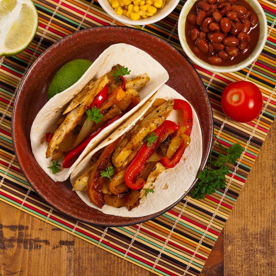 Spicy Chicken Fajitas