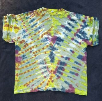 Camo steal your face tie dyev- tie mens