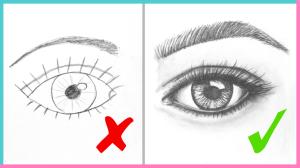 step draw eyes drawing realistic tutorial easy eye beginners makoccino dos