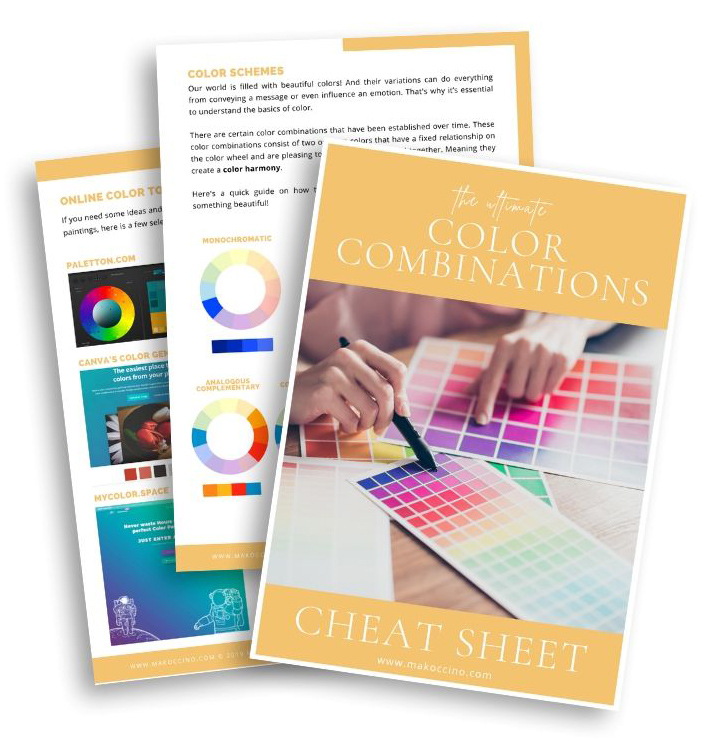 The Ultimate Color Combination Cheat Sheet