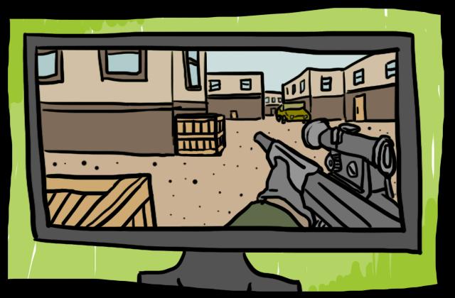 FPSのシューティングゲーム