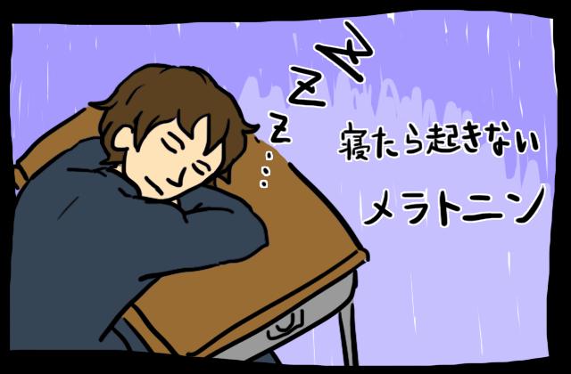 睡眠ホルモンのメラトニン
