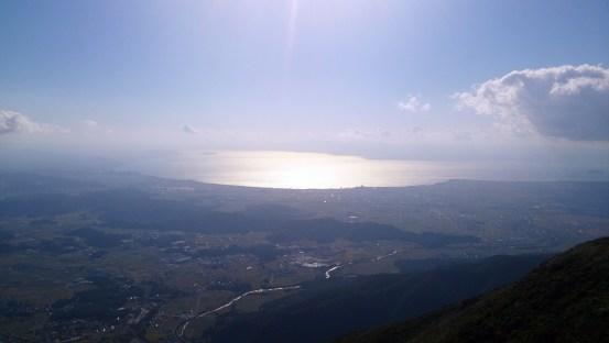 伊吹山琵琶湖展望台