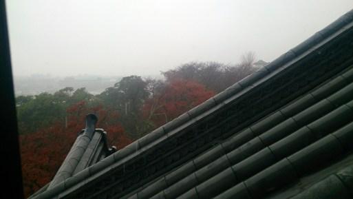 彦根城の天守内からの展望01