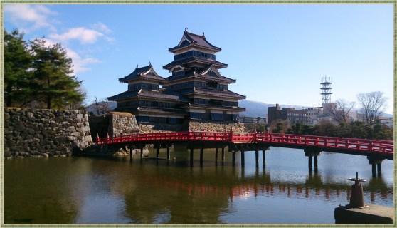 松本城と埋橋の九枚目