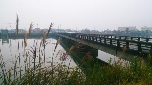能登川水車の大同川
