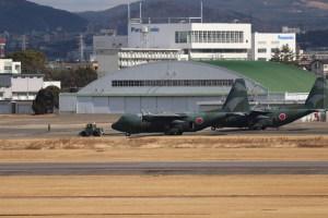 名古屋飛行場からの軍用機撮影01
