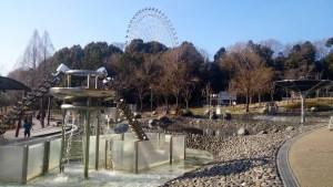 愛地球博の水のエリア02と観覧車