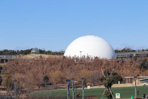 愛地球博の地球市民交流センターという名の体育館