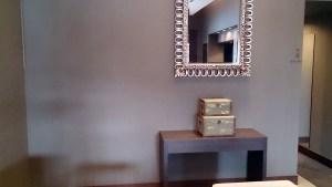 結婚式場の鏡と宝箱