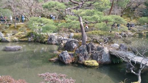 銀閣寺の庭園01