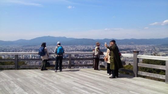 将軍塚の青龍殿からの見晴らし02