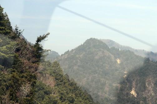 御在所3のロープ内から山々を撮影02