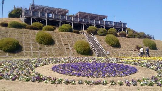 7あわじ花の高台と花畑