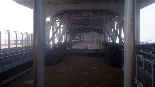 道の駅うずしお15の大鳴門橋下の光景1