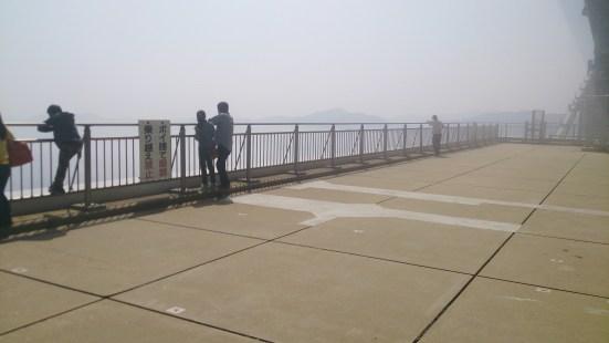 道の駅うずしお13の大鳴門橋下の展望エリア