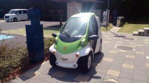 トヨエコ7の超小型電動自動車