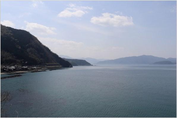 越前海岸1-8海岸から半島を眺める