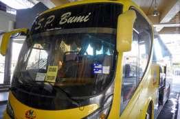 テレンガヌ発コタバル行きバス