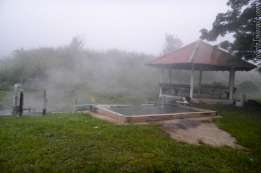 早朝の霧 Pong Bua Ban Hot Springs