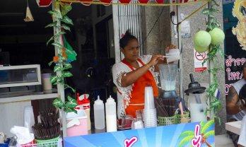 Hat yai の Coconut Milk Shake