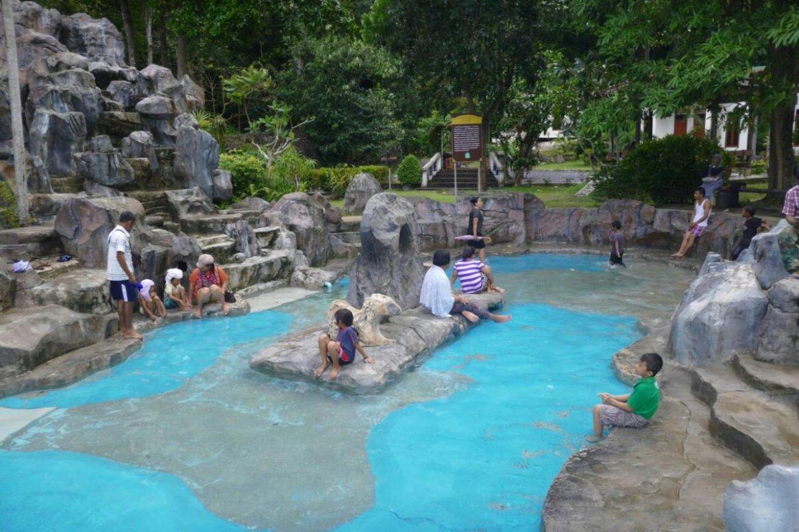 Khao Chaison Hot Spring カオチャイソン温泉、パッタルン