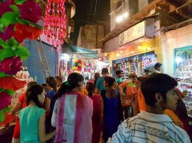 Diwali 祭りの準備