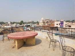 Hotel Shah Jahan の屋上