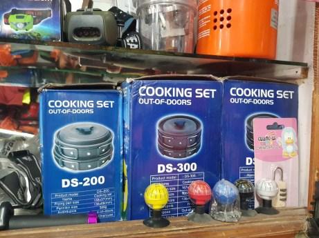 DS-300 が1700Rs。 大きめの鍋がひとつ欲しい