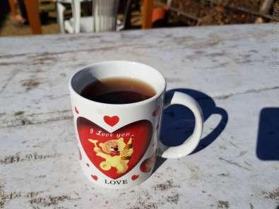 10:42 ブランチ お茶サービス