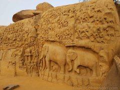 アルジェナの苦行とかいう壁彫刻