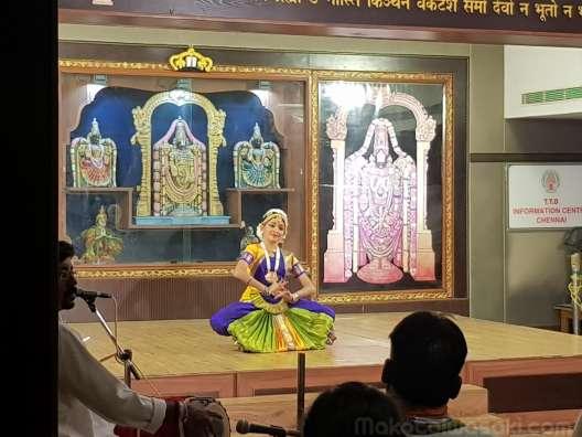 Bharatanatyam ヒンドダンス Swathi Giridharan @TTD Chennai