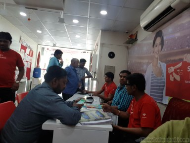 claimed at Airtel shop in Pune