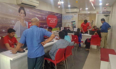 How Airtel Scammer deal with Customers