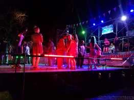 タイ風ダンス Wat Chee Pong Nam Ron