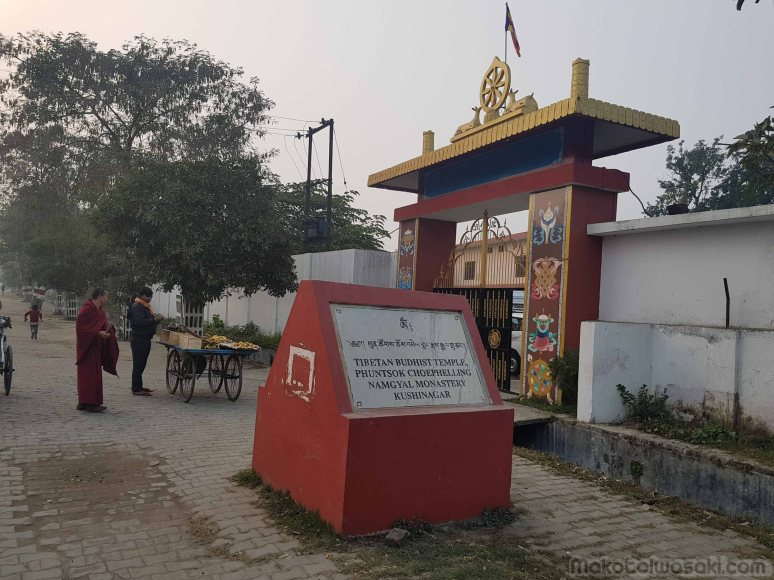 クシナガールの佛陀入滅地