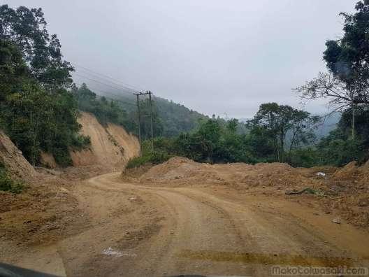ベトナム國境Ban Na Mangまであと30km