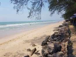 Hua hin のビーチ