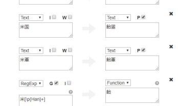 不快語句の置換表示に Chrome Text Customizer