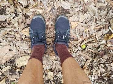 チェンマイのデカトロンで買った靴