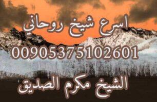 اقوى شيخ روحاني لفك الرصودات 00905375102601