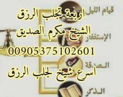 اقوى شيخ روحاني لجلب الرزق 00905375102601