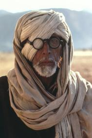 Steve McCurry,PAKISTAN. Baluchistan. 1981. Shabuz, 68, Afghan refugee with damaged eye.