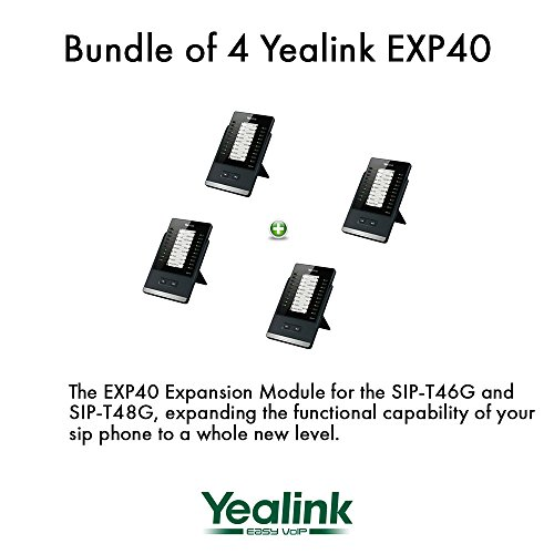 Yealink EXP40 LCD Expansion Module for SIP-T46G and SIP