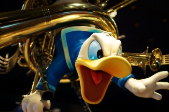 They may call it Mickey's Philharmagic, but we all know the real star of the show is Donald.