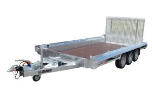 Maskintrailer Model I 3500 kg 3-aksler Vlemmix