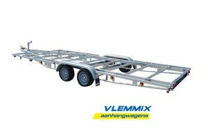 Tiny house trailer Model D 3500 kg 2-aksler Vlemmix