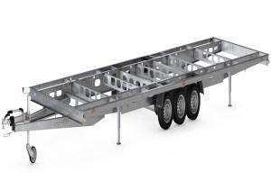 AL-KO Tiny House trailer model B 3500 kg 3-aksler