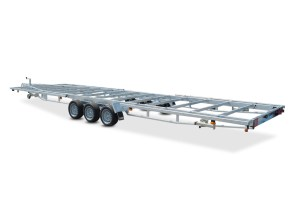 Tiny house trailer Model X 3500 kg 3-aksler Vlemmix